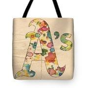 Oakland Athletics Logo Vintage Tote Bag