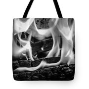 Oakwood Flames Tote Bag
