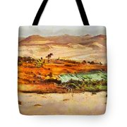 Oasis Tote Bag by George Rossidis