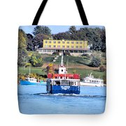 Oasis On The Ocean Tote Bag