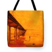 Ob Sunset Tote Bag