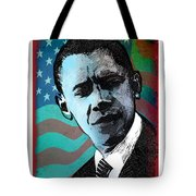 Obama-3 Tote Bag