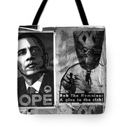 Obama Election Poster Tote Bag