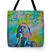 Obama In Living Color Tote Bag