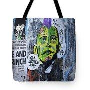 Obama The Grinch Tote Bag