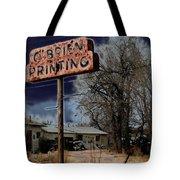 Obrien Printing Tote Bag