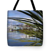 Obscured View Of Percival Landing Tote Bag