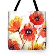 Observant Flowers 101 Tote Bag