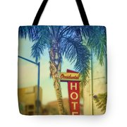 Occidental Hotel Tote Bag