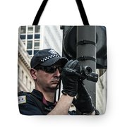 Occupy Chicago Viii Tote Bag