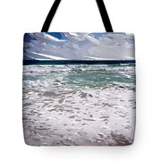 Ocean Abstract Tote Bag