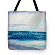 Ocean Assateague Virginia Tote Bag