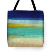 Ocean Blue 3- Art By Linda Woods Tote Bag by Linda Woods