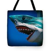 Ocean City Shark Attack Tote Bag