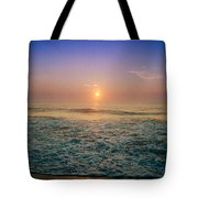 Ocean City Sunrise Tote Bag