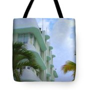 Ocean Drive Hotel Tote Bag