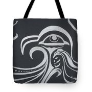 Ocean Eagle Eye Tote Bag