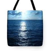 Ocean Fall Tote Bag