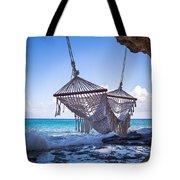 Ocean Front Hammock Tote Bag