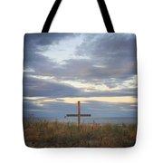 Ocean Grove Nj Beach Cross Tote Bag