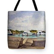 Ocean Inlet Marina Tote Bag
