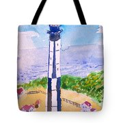 Ocean Lighthouse Tote Bag