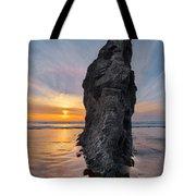 Ocean Meadow Beach Sunset Tote Bag