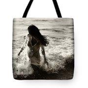 Ocean Mermaid Tote Bag