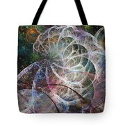 Ocean Morning One Of Two Tote Bag