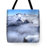 Ocean Of Clouds Tote Bag
