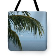 Ocean Palm Tote Bag