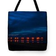 Ocean Pier At Dawn 2 Tote Bag