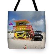 Ocean Rescue Miami Tote Bag