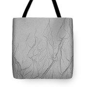 Ocean Sand Art Hearts Tote Bag