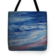 Ocean Shoreline Tote Bag