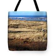 Ocean Shores Boardwalk Tote Bag