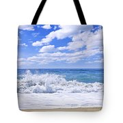 Ocean Surf Tote Bag by Elena Elisseeva