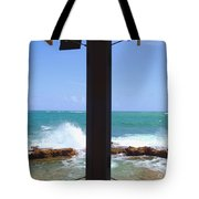 Ocean View Tote Bag by Carey Chen