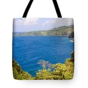 Ocean View From The Road To Hana, Maui Tote Bag