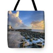 Oceanfront Tote Bag
