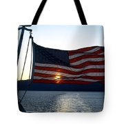 Oceanic Old Glory Tote Bag