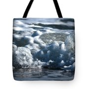 Ocean's Beauty Abstract Tote Bag