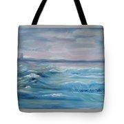 Oceans Of Color Tote Bag