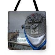 Oceanside Pier California Binocular Vision Tote Bag