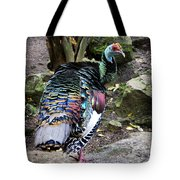 Ocellated Turkey Tote Bag