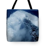 Oceon Waves Denmark Tote Bag