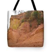Ochre Rocks Roussillon  Tote Bag