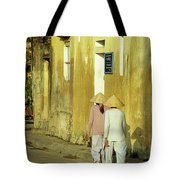 Ochre Wall 02 Tote Bag