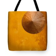 Ochre Wall Conical Hat Tote Bag