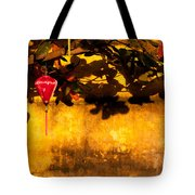 Ochre Wall Silk Lantern 01 Tote Bag